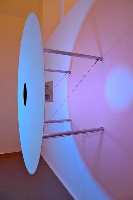 Adam Barker-Mill, 'Disco Volante', 2010, Installation, Alubond, MDF panel (painted matt white), aluminium tubing, LED Lamps, Bartha Contemporary