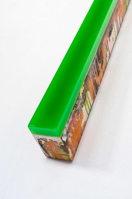 Ivan De Menis, 'Retta 438/y1', 2020, Sculpture, Mixed media on wooden panel, &Gallery