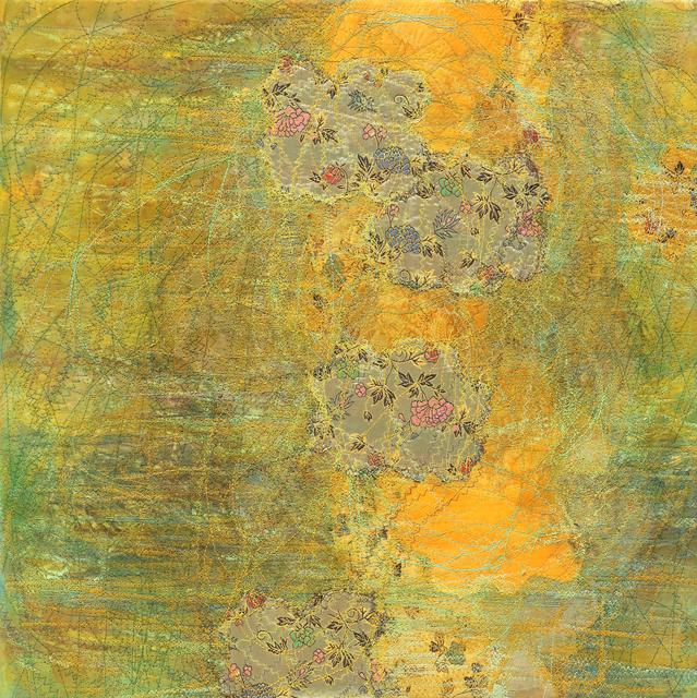 Shin Kyoung Ro, 'Inbetween 0516', 2018, Painting, Sewing on Korean paper, Artflow