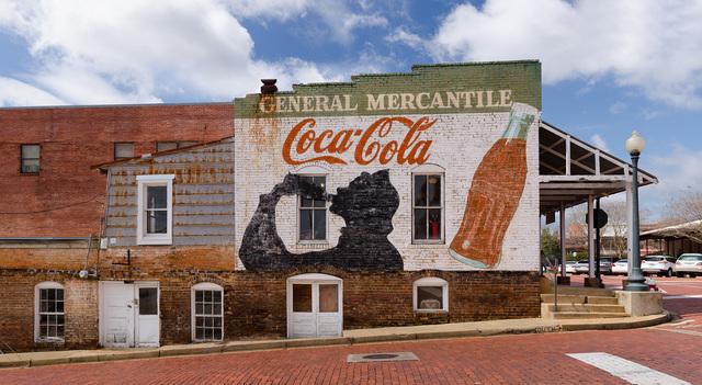 , 'Coca-Cola Mural; Nacogdoches, Texas,' 2016, Clark Gallery