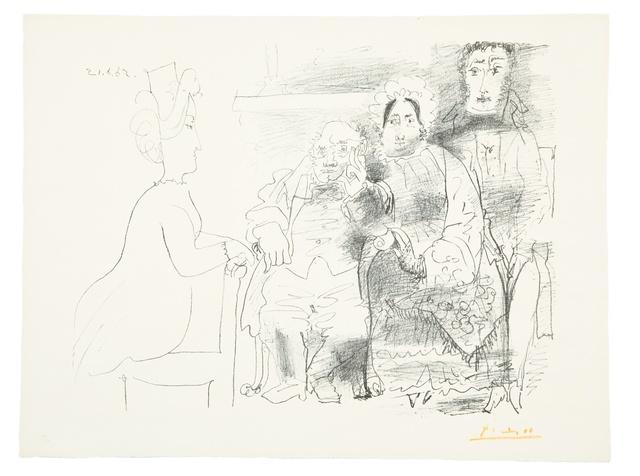 Pablo Picasso, 'Portrait de Famille (Bloch 1030)', 1962, Forum Auctions