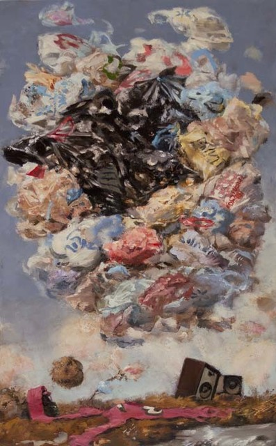 , 'Tumble Bags,' 2013, Catharine Clark Gallery