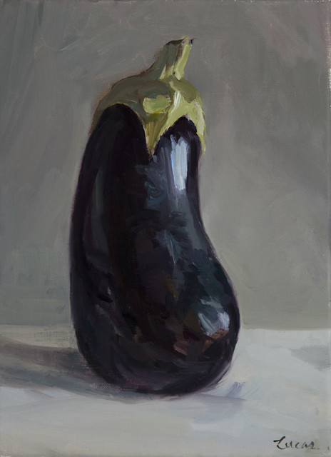 , 'Madame Eggplant,' 2017, Grenning Gallery