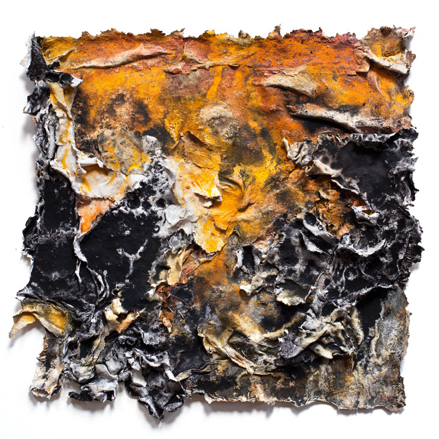 Ruggero Vanni, 'Charta: Ater, Gilvus et Flavus', 2014, Arco Gallery