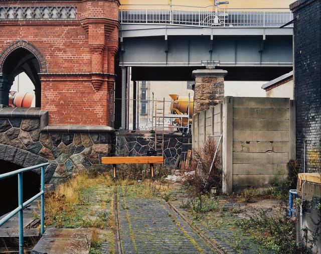Stéphane Couturier, 'Berlin, Oberbaumbrücke', 1996, Photography, Dye destruction print, Phillips