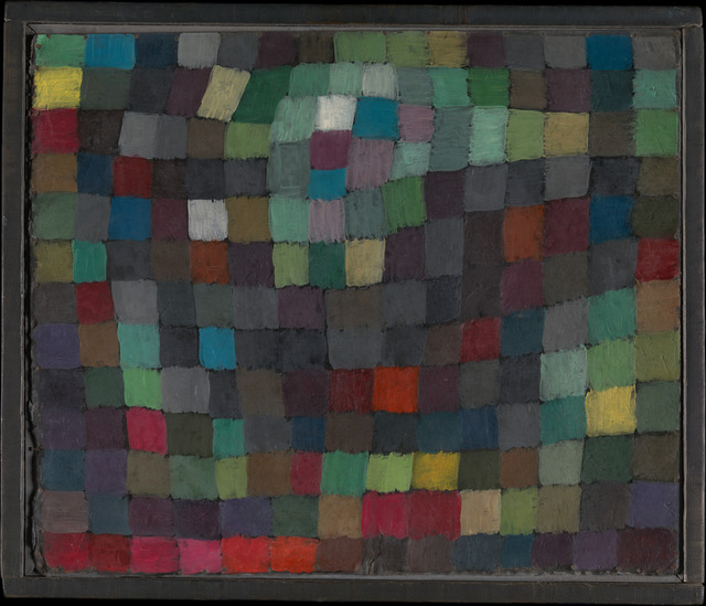 Paul Klee, 'May Picture', 1925, Painting, Oil on cardboard, The Metropolitan Museum of Art