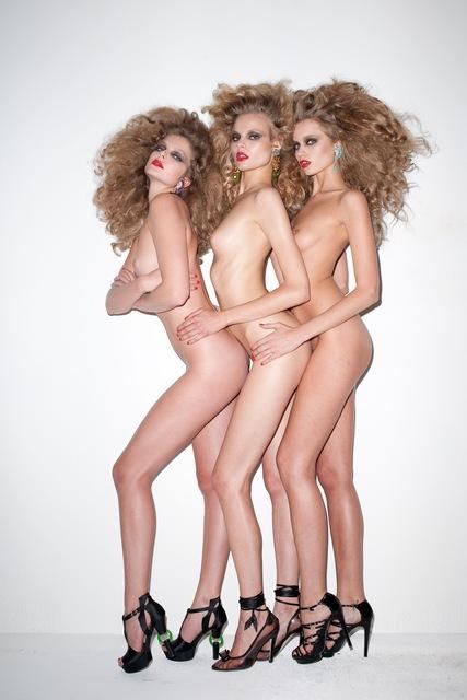 , 'Three Girls,' 2009, Galerie Perrotin