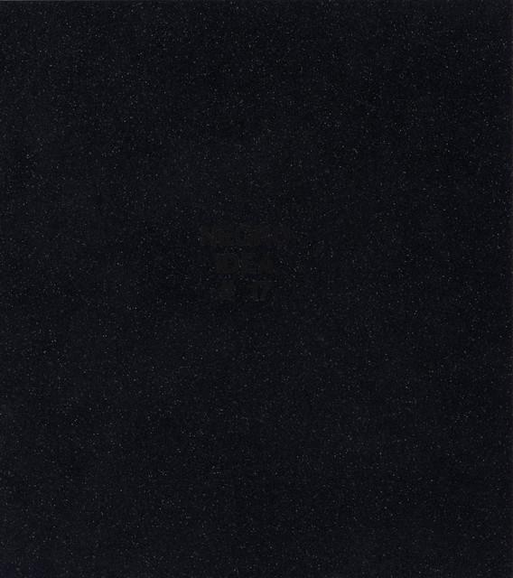 Pope.L, 'Negro Idea #17', Mixed Media, Vinyl on PVC, Doyle