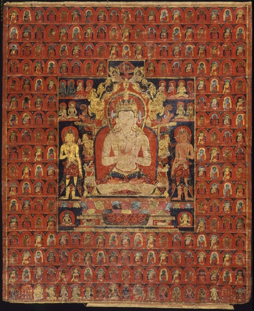 , 'The cosmic Buddha Vairochana,' ca. 1275-1350, Asian Art Museum
