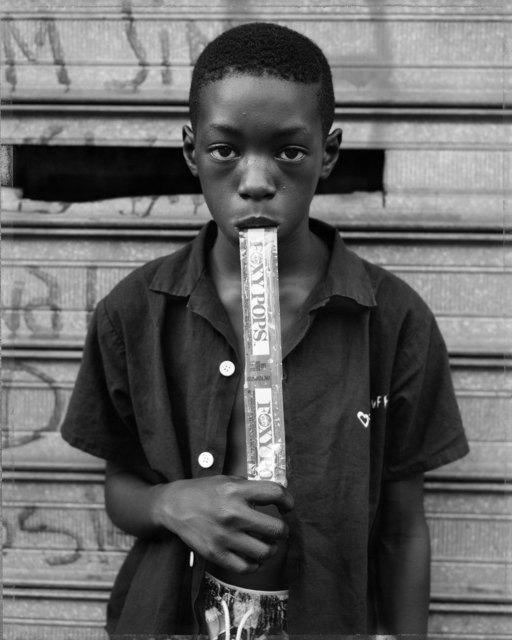 , 'A Boy Eating a Foxy Pop, Brooklyn, NY, 1988 ,' 2014, Rena Bransten Gallery