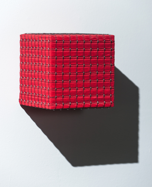 , 'Red Cube,' 2015, Bentley Gallery