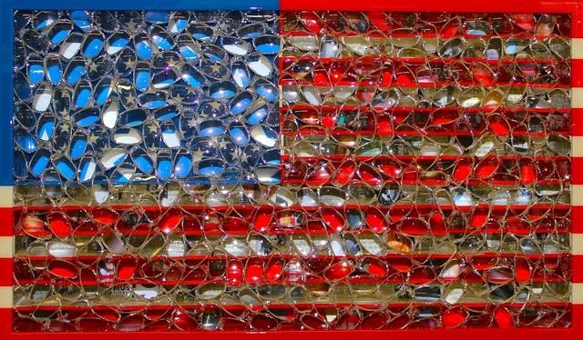 , 'Musical Flag,' 2015, Contessa Gallery