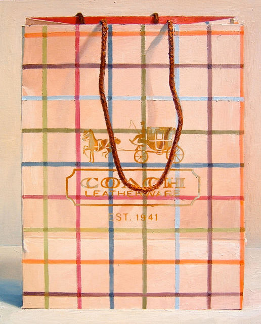 , 'Stripes (Coach Bag),' 2008, Rosenthal Fine Art