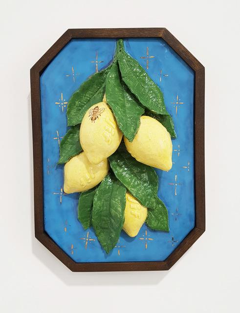 , 'Della Robbia Lemons,' 2018, James Freeman Gallery