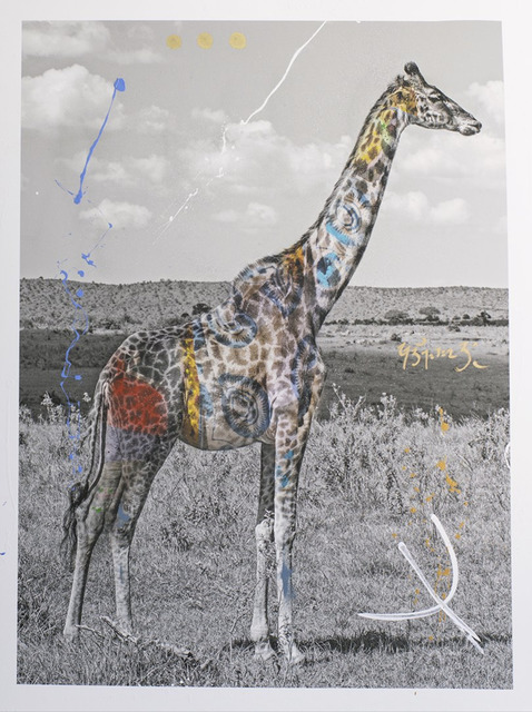 , 'Giraffa,' 2019, Space Gallery St Barth