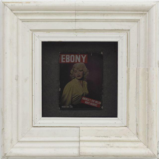 , 'Ebony Vitrine 4,' 2012, White Cube