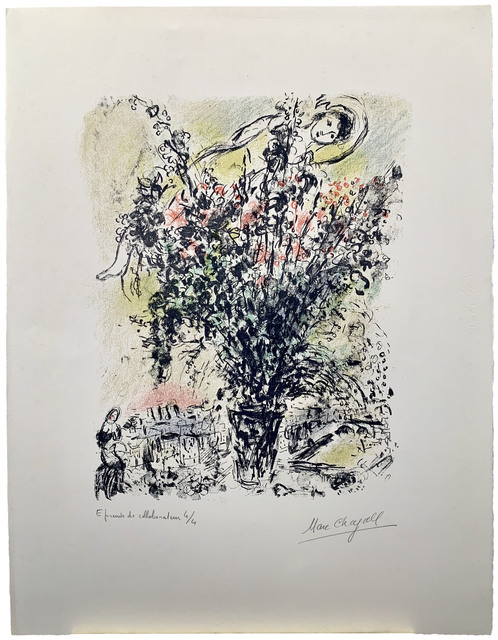 , 'Le Bouquet de Paris,' 1971, Galerie Raphael