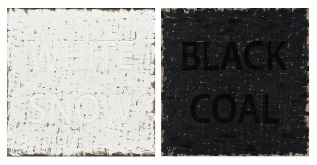 , 'White Snow Black Coal,,' 2014, Zürcher, New York | Paris