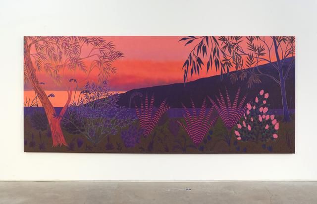 , 'much gleaming begun,' 2018, James Fuentes