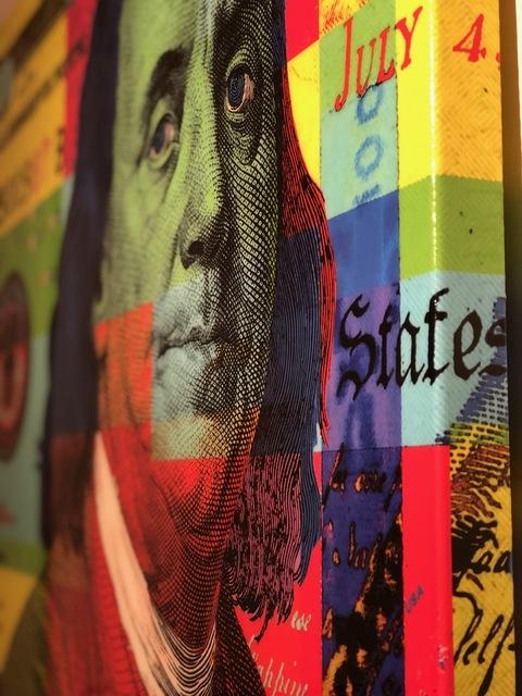 Mister E, 'Benny Fold (Rainbow)',  , Marcel Katz Art