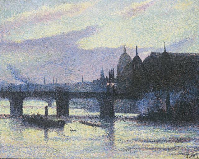 , 'Vue de Londres (Canon Street),' 1893, Guggenheim Museum Bilbao