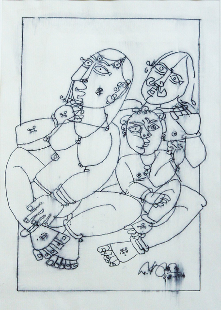 , 'Family (Homage to Picasso),' 2006, The Noble Sage Collection
