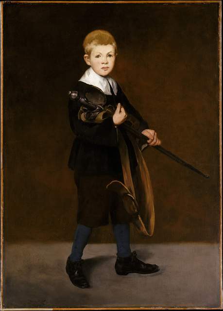 , 'Boy with a Sword,' 1861, The National Gallery, London