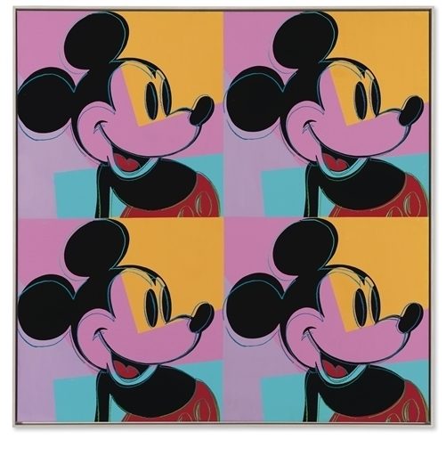 Andy Warhol, 'Quadrant Mickey Mouse', Christie's