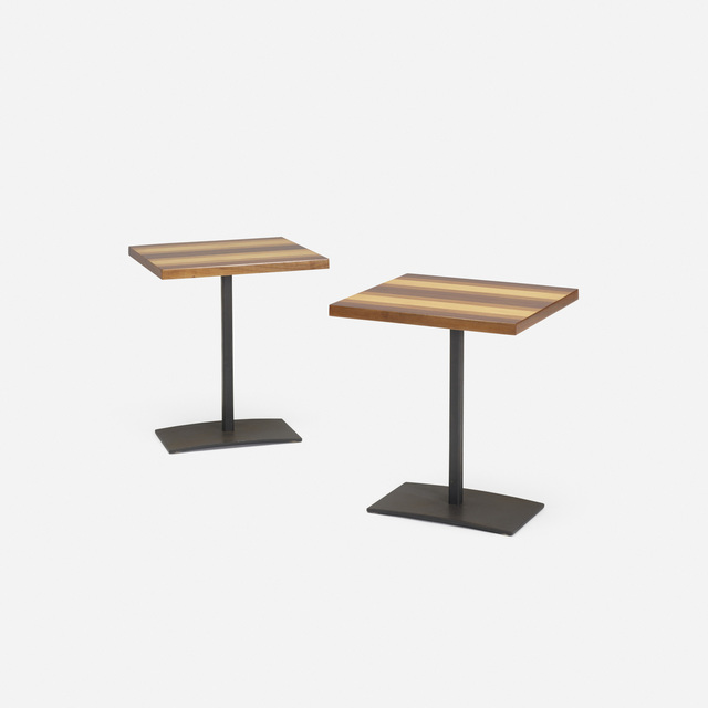 Milo Baughman, 'Occasional tables, pair', c. 1960, Wright