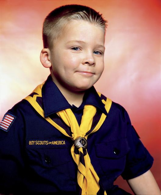 , 'Boy Scout John Schneider, Troop 422 (America),' 2002, Galerie Nathalie Obadia