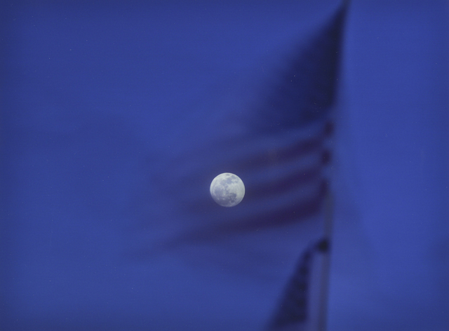 , 'National Flag, Santa Monica, CA, from the series 'Watching the Moon',' 2013, ROSEGALLERY