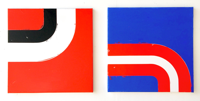 , 'Spring 1 & 2 (diptych),' 2018, Galerie Bart