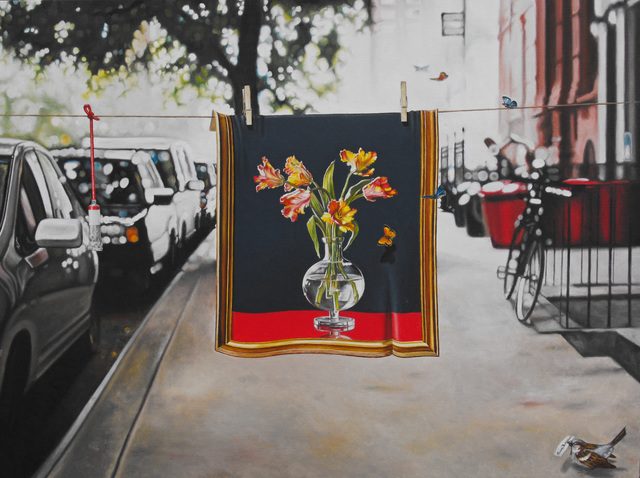 , 'A Wet Painting,' 2014, Art and More Gallery
