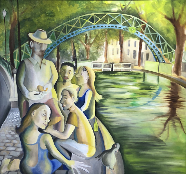 , 'Picnic by the Canal,' 2013, Beacon Gallery