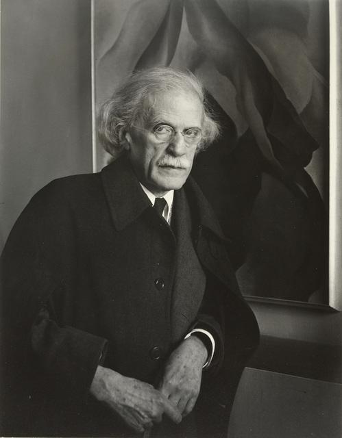 Imogen Cunningham, 'Alfred Stieglitz, Photographer', 1934, Photography, Gelatin silver print, G. Gibson Gallery