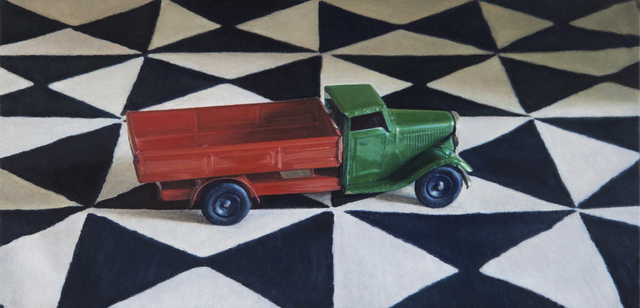, 'Toy Truck on a Printed Cloth,' 2012, Nancy Hoffman Gallery