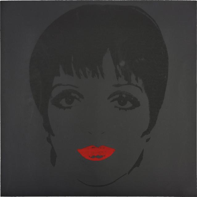 Andy Warhol, 'Liza Minnelli', circa 1978, Print, Unique screenprint in colours, on Lenox Museum Board, the full sheet., Phillips