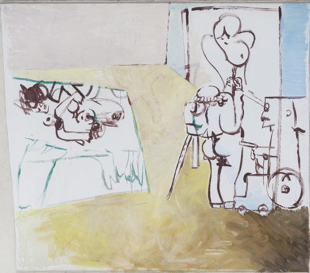 , 'Life, Spring Righteousness, Etiquette, Wisdom, Wheelchair, Handgun,' 2014, Boers-Li Gallery