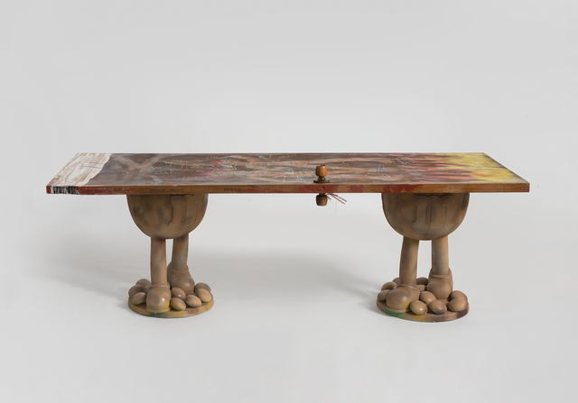 , 'Doodly Long Table #31,' 2019, Beijing Commune