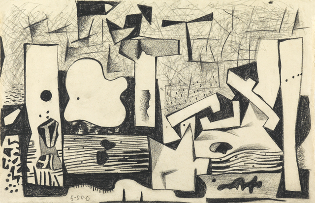 , 'Composition,' 1950, Whitford Fine Art