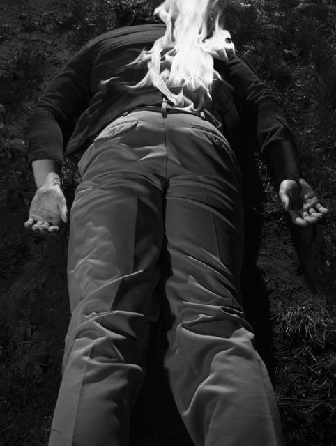 , 'Bonfire Reenactment II,' 2017, Casemore Kirkeby