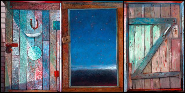 , ' Ephraim Kelloway's Door,' 2018, Winchester Galleries