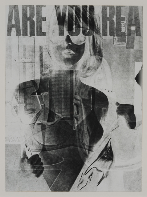 , 'Are You Rea #1,' 1964-1968, Hammer Museum