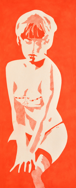 , 'The Last Red Girl,' 1966, The Mayor Gallery