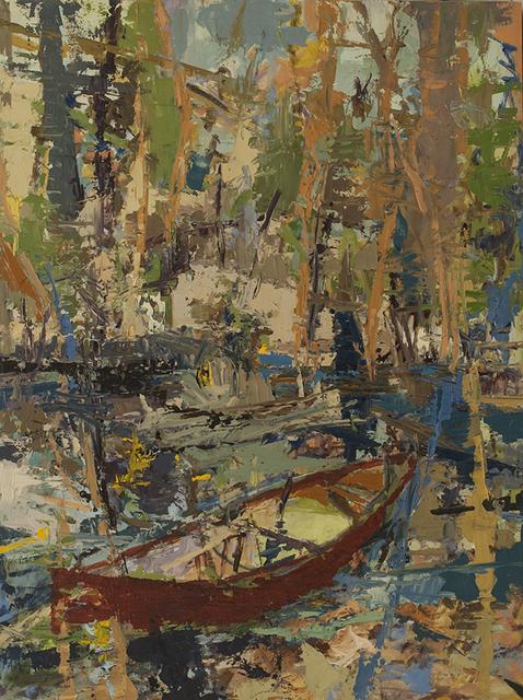 , 'Mystery canoe place,' 2015, CFA Gallery