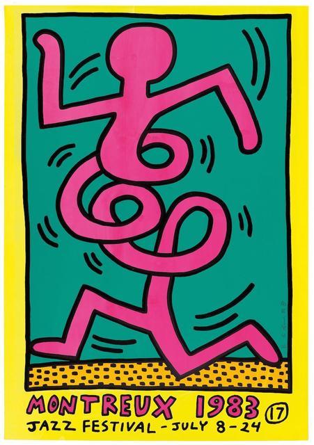, 'Montreux Jazz Festival (Pink Man),' 1983, Rhodes