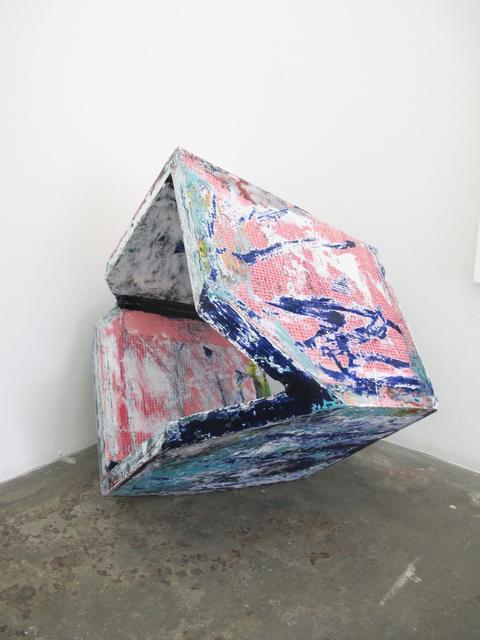 , 'Feeling fleeting fearing floating falling,' 2016, V1 Gallery
