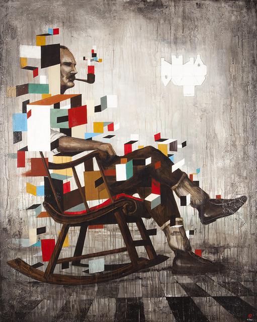 , 'Les Temps Pliés,' 2012, Espace40