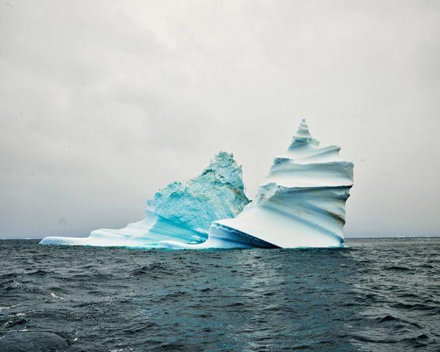 David Burdeny, 'Iceberg 1 (corkscrew), Greenland', 2017, CHROMA GALLERY
