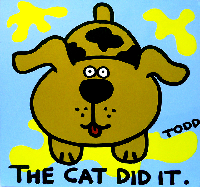 , 'The Cat Did It,' , The Ross Art Group Inc.